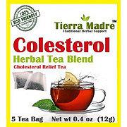Tierra Madre Colesterol Cholesterol Relief Tea Bags