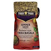 Tiger Tiger Simmer Sauce Peshwari Style Tikka Masala