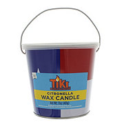 TIKI Wax Candle Bucket, Texas Flag