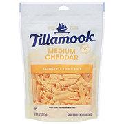 Tillamook Medium Cheddar Cheese, ThickShredded