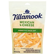 Tillamook Mexican 4 Cheese, Thick Shredded