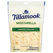 Tillamook Mozzarella Cheese, ThickShredded