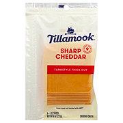 Tillamook Sharp Cheddar Cheese Deli Sliced