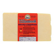 Tillamook Sharp Cheddar Cheese with Red Wax