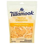 Tillamook Triple Cheddar Cheese, Thick Shredded