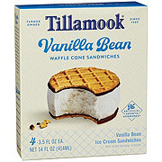 Tillamook Vanilla Bean Ice Cream Sandwich