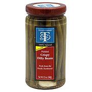 Tillen Farms Extra Mild Pickled Crispy Dilly Beans