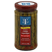 Tillen Farms Hot And Spicy Pickled Crispy Asparagus