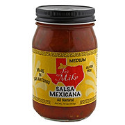 Tio Mike's Medium Salsa Mexicana
