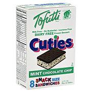 Tofutti Cuties Snack Size Mint Chocolate Chip Sandwiches