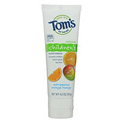 Tom's of Maine Children's Outrageous Orange Mango Fluoride Toothpaste