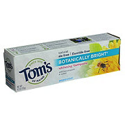 Tom's of Maine Fluoride-Free Botanically Bright Peppermint Whitening Toothpaste