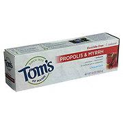 Tom's of Maine Fluoride-Free Propolis & Myrrh Cinnamint Toothpaste