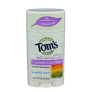 Tom's of Maine Long Lasting Beautiful Earth Women's Deodorant