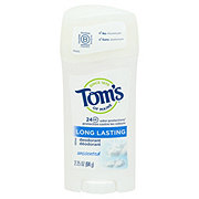 Tom's of Maine Long Lasting Unscented Deodorant