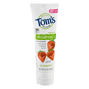 Tom's of Maine Natural Silly Strawberry Children's Fluoride Toothpaste