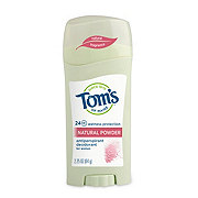 Tom's of Maine Naturally Dry Antiperspirant, Natural Powder