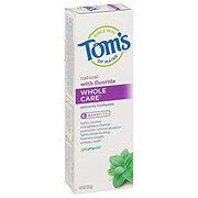 Tom's of Maine Whole Care Spearmint Natural Fluoride Toothpaste