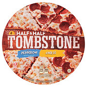 Tombstone Half & Half Pepperoni and Cheese Pizza