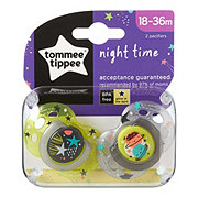 Tommee Tippee Pacifiers Nighttime 18 To 36 Months