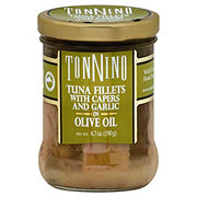 Tonnino Tuna Fillets Capers and Garlic In Olive Oil