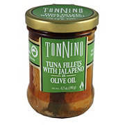 Tonnino Tuna Fillets with Jalapeno in Olive Oil