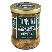 Tonnino Tuna Fillets with Oregano in Olive Oil