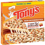 Tony's Pizzeria Style Crust Bacon Cheeseburger Pizza
