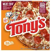 Tony's Pizzeria Style Crust Meat Trio Pizza