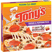 Tony's Pizzeria Style Crust Sausage & Pepperoni Pizza