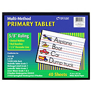Top Flight Muli-Method Primary Tablet,  Ruled