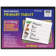 Top Flight Multi-Method Primary Tablet 11x8.5in