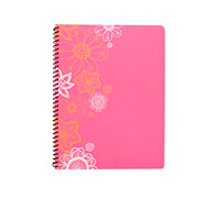 Top Flight Neon Fashion Wide Rule One Subject Notebook, Colors & Designs May Vary