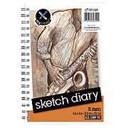 Top Flight Sketch Diary Book, 9X6
