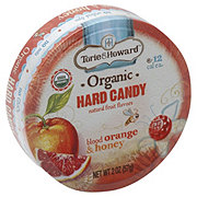 Torie & Howard Organic Blood Orange & Honey Hard Candy