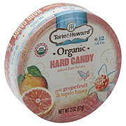 Torie & Howard Organic Grapefruit & Honey Hard Candy