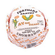 Tortillas Santos White Corn Tortillas