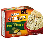 Tostitos Dipetizers Spinach Artichoke Dip Shop Salsa Dip At H E B