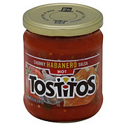 Tostitos Hot Chunky Habanero Salsa