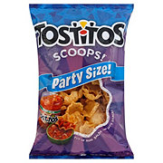 Tostitos Scoops! 100% White Corn Tortilla Chips Family Size