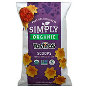 Tostitos Simply Organic Scoops Tortilla Chips