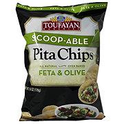 TOUFAYAN BAKERIES Pita Chips Feta & Olive