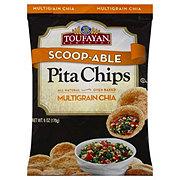 Toufayan Scoop-able Pita Chips Multigrain Chia