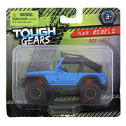 Tough Gears Assorted 4x4 Rebels Die Cast Vehicles
