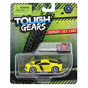 Tough Gears Assorted Burnin' Key Cars Die Cast Vehicles