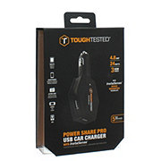 Tough Tested Power Share Pro USB Car Charger
