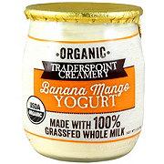 Traderspoint Creamery Banana Mango Yogurt