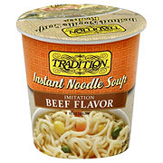 Tradition Beef Style Instant Noodle Soup