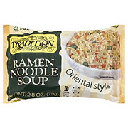 Tradition Oriental Style Ramen Noodle Soup