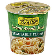 Tradition Vegetable Style Instant Noodle Soup